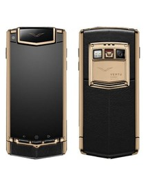 Vertu Ascent Ti Touch BLACK PVD RED GOLD