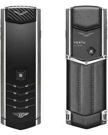 VERTU SIGNATURE S DESIGN FOR BENTLEY STEEL CALF (РУЧНАЯ СБОРКА)
