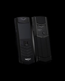 VERTU SIGNATURE S DESIGN FOR BENTLEY BLACK CALF (РУЧНАЯ СБОРКА)