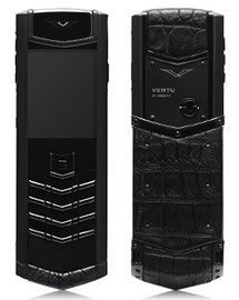 Vertu Signature S Design DLC Ultimate Black Alligator