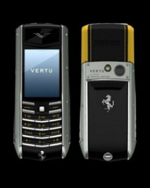 Vertu Ascent Ti Ferrari Giallo (АВСТРИЯ)