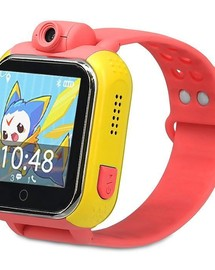 Smart Baby Watch q75 red