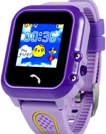 Smart Baby Watch GW600S Purple