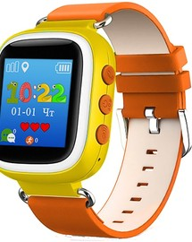Smart Baby Watch Q60S Orange