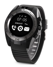 Смарт часы Smart watch sw007 black (черные)