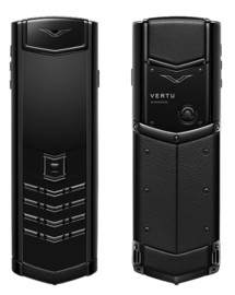 Vertu Signature S Design DLC Ultimate Black New