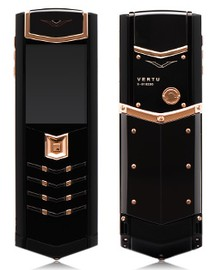 Vertu Signature S Design DLC Pure Black Gold