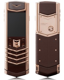 Vertu Signature S Design Red Gold