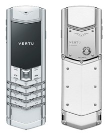 VERTU SIGNATURE S DESIGN WHITE LIMITED (ФИНЛЯНДИЯ)