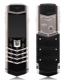 Vertu Signature S Design Stainless Steel Alligator